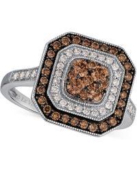 Le Vian - Diamond Ring (3/4 Ct. T.w.) In 14k White Gold - Lyst