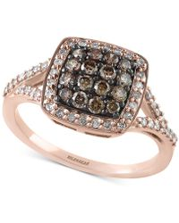 Effy Collection - Diamond Ring (5/8 Ct. T.w.) In 14k Rose Gold - Lyst