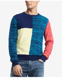 Tommy Hilfiger - Colombo Colorblocked Sweater, Created For Macy's - Lyst