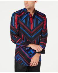 INC International Concepts - I.n.c. Mens Pattern Control Shirt, Created For Macy's - Lyst