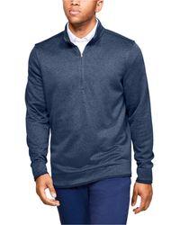 Under Armour Sweaterfleece 1⁄2 Zip - Blue