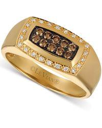 Le Vian Diamond Statement Ring (3/8 Ct. T.w.) In 14k Gold - Metallic