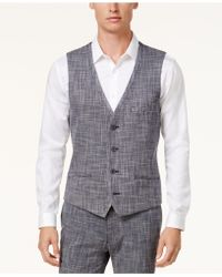 Vince Camuto - Men's Slim-fit Free-standing Vest - Lyst