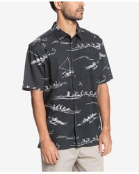 Quiksilver Ala Wai Short Sleeve Shirt - Multicolor