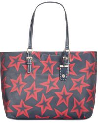 Tommy Hilfiger - Julia Smooth Star-print Extra-large Tote - Lyst