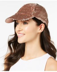 Steve Madden - Sequined Baseball Hat - Lyst