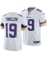 free shipping 26352 58374 Nike Synthetic Adam Thielen Minnesota Vikings Limited Color ...