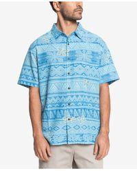 Quiksilver - Holokai Short Sleeve Shirt - Lyst