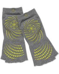 Gaiam - Grippy No-slip Yoga Socks - Lyst