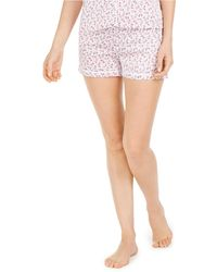 Vera Bradley Floral-print Sleep Shorts - White