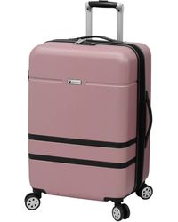 """London Fog Southbury Ii 25"""" Spinner Suitcase, Created For Macy's - Multicolour"""