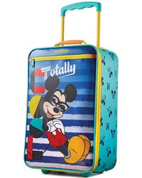 "American Tourister Disney Upright 18"" Softside Suitcase (kids) - Blue"