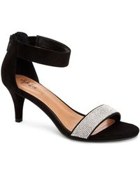 Style & Co. Phillys Two-piece Evening Sandals, Created For Macy's - Black