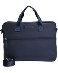 Tommy Hilfiger Alexander Slim Briefcase - Blue