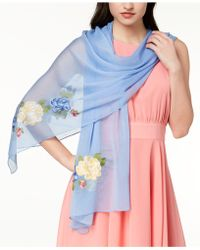 INC International Concepts - I.n.c. Flower Vine Embroidered Scarf, Created For Macy's - Lyst