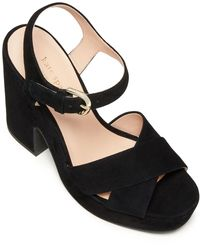 Kate Spade Grace Platform Sandals - Black