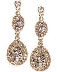 Givenchy - Earrings, Crystal Linear Teardrop - Lyst