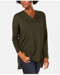 Style & Co. - High-low Tunic Sweater, Created For Macy's - Lyst