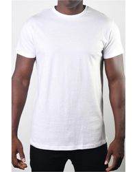 Members Only Basic Crew Neck Tee - White