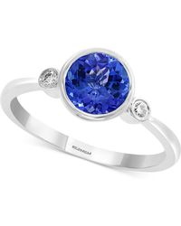 Effy Collection - Effy® Tanzanite (1-1/4 Ct. T.w.) & Diamond Accent Ring In 14k White Gold - Lyst
