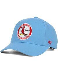 47 Brand St. Louis Cardinals Mvp Curved Cap - Blue