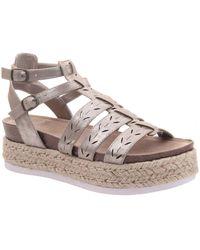 Madeline Girl Kindred Espadrille Sandals - Multicolor