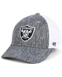 sale retailer ffafb 03358 Nike Swoosh Flex (nfl Raiders) Fitted Hat in Black for Men - Lyst