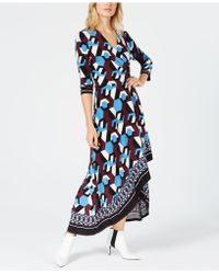 INC International Concepts - I.n.c. Petite High-low Faux-wrap Dress, Created For Macy's - Lyst