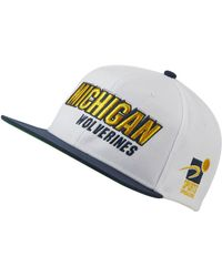 6bb21c8c6aa Nike - Michigan Wolverines Sport Specialties Shadow Snapback Cap - Lyst