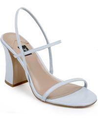 Zac Posen Shelby Heeled Sandals - Blue