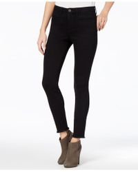 Maison Jules - Frayed Skinny Jeans - Lyst