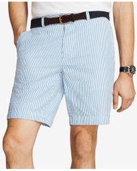 "Brooks Brothers - Seersucker 9"" Shorts - Lyst"