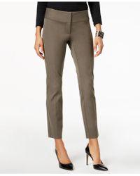 Alfani | Slim Straight-leg Pants | Lyst