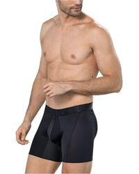Leo Butt Lifter Padded Boxer Brief - Black