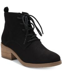Style & Co. - Rizio Lace-up Ankle Booties, Created For Macy's - Lyst