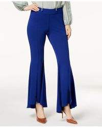 INC International Concepts - I.n.c. Flared High-low Pants, Created For Macy's - Lyst