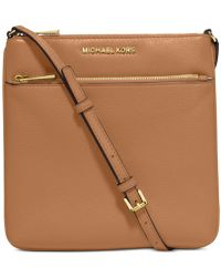 Michael Kors - Michael Riley Pebble Leather Crossbody - Lyst
