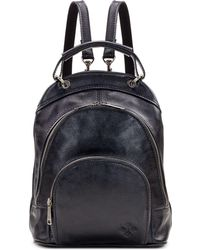 Patricia Nash Heritage Leather Alencon Backpack - Black