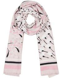 Kate Spade Sea Breeze Patchwork Oblong Scarf - Pink