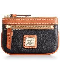 e4021917b42 CALVIN KLEIN 205W39NYC Pebble Leather Belt Bag in Black - Lyst
