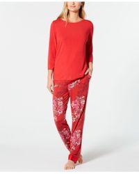 Sesoire Knit Pyjama Set - Red