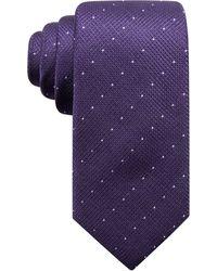 Alfani - Men's Parkside Dot Silk Slim Tie, Created For Macy's - Lyst