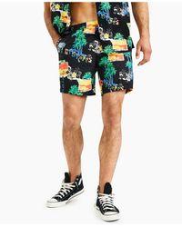 Deus Ex Machina Sandbar Lambada Shorts - Black