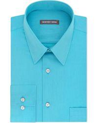 Geoffrey Beene - Men's Classic-fit Wrinkle Free Bedford Cord Dress Shirt - Lyst
