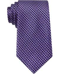 Michael Kors Neat Tie - Purple