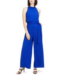 Vince Camuto Wide-leg Jumpsuit - Blue