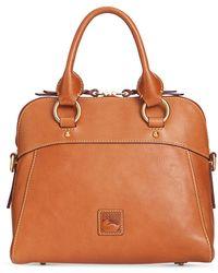 Dooney & Bourke Cameron Medium Florentine Leather Satchel - Multicolour