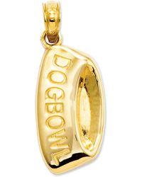 Macy's - 14k Gold Charm, Dog Bowl Charm - Lyst