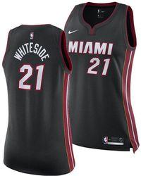 c0d9b1497 Lyst - adidas Men's Dwyane Wade Miami Heat Swingman Jersey in White