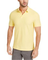 DKNY Stackable Regular-fit Polo Shirt - Yellow